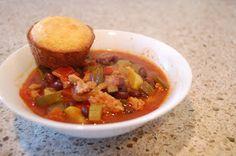 Low Calorie Meals: 100 Calorie Veggie Chili