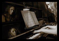 Foothill High Senior Portrait – Indoor/Outdoor Piano