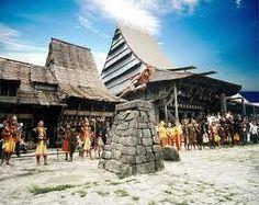 A village in Nias Island