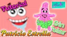♥ Tutorial: Patricio Estrella de gomitas (sin telar) ♥