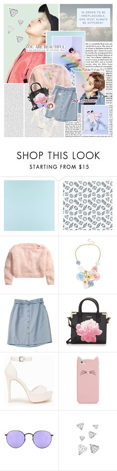 """Got7: Fly 🎶"" by glitterlovergurl ❤ liked on Polyvore featuring Casadeco, WallCandy, H&M, Mixit, Calvin Klein, Nly Shoes, Kate Spade, Ray-Ban, Martha Stewart and WALL"