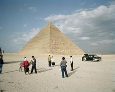 5.3 Martin Parr, 'The Pyramids', Giza, Egypt, 1995/2007.