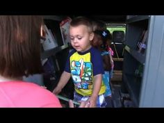 ▶ Ford Transit modded into mobile library - YouTube