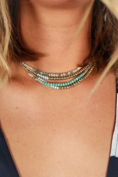 Keeping You Close Choker Necklace In Limpet Shell