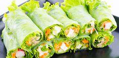 Super Culinária - Mini Wraps vegetariano
