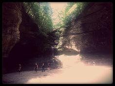 Matthiessen State Park - Oglesby, IL, United States. Matthiessen State Park