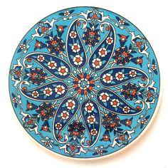 Ceramic Trivet Iznik design