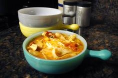 When the cold weather hits, be ready with some of these comforting, bone-warming dishes. From soups, chilis, and stews to casseroles and pasta dishes.: Chicken Tortilla Soup