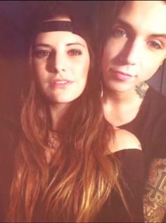 Andy and Juliet: I recently discovered BVB and of course I think andy Biersack is adorable (Extremely Amazing and hot). Then I found out that he was in a relationship with Juliet Simms. I was jealous at first not that they were together but Because she is beautiful. I really do think they are the cutest couple ever.