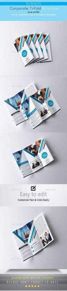 Brochure #flat #promotion  • Download here → https://graphicriver.net/item/brochure/17771398?ref=pxcr