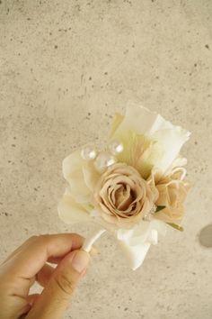 隠れミッキー&ミニー入りブーケ♡ディズニーウェディングの花嫁様へ |アートフラワーウェディング greenplus