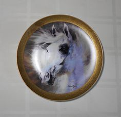 Harland Young Art Plate 'The Arabian' - Very LIMITED Edition!