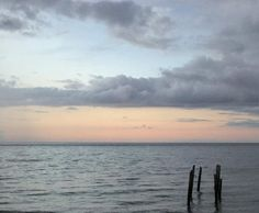 Ocean front dinner with family & this view is Friday night #perfection.  #goodnight #puertorico #sunset
