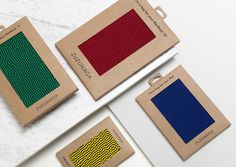 Packaging for fashion accessory and homeware brand Zuzunaga designed by Folch