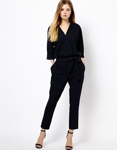 This jumpsuit fro ASOS would be a perfect transition piece