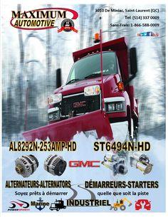 GMC pick up Saint Laurent, Starters, Motors, January, Canada, Winter, Dance Floors, Sailor, Winter Time
