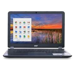 Acer CB3-531-C4A5 Celeron N2830 Dual-Core 2.16GHz 2GB 16GB SSD 15.6 LED Chromebook Chrome OS w/Cam BT & WiFi-AC