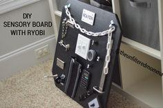 DIY Sensory Board with RYOBI