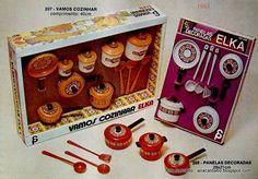 Ana Caldatto : Coleção Brinquedos minis Apetrechos de cozinha de Criança