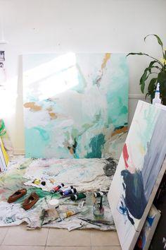 Meredith C. Bullock // art studio