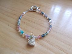 SS heart beaded bracelet by SecChnceTreasure on Etsy, $20.00