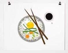 prints of dishes by Pancake & Franks... //  via Joy Cho // Oh Joy!
