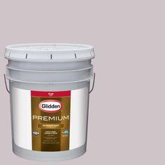 Glidden Premium 5-gal. #HDGR11U Turtledove Rose Flat Latex Exterior Paint