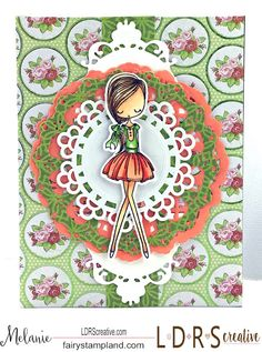 """Fairy Stamp Land: LDRS Creative & All Dressed Up """"Gal Pals"""""""