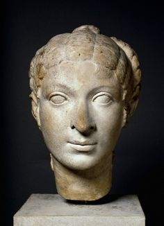 The statue said to resemble Cleopatra VII. This is now thought to represent a woman of the Queen's entourage.