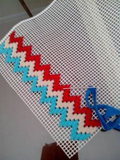 Nice pattern for stitching on to plastic canvas - not sure what I\'d make with it yet, though...