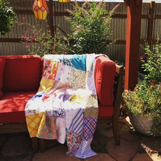 Alyssa- patchwork picnic blanket