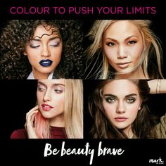 Mark comes to Avon! Introducing the mark. Be Beauty Brave collection. It's time to discover colour.  Avon