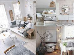 La decoración nórdica está de moda ¡Descubre los mejores trucos! Relax, Office Desk, Interior Design, Furniture, Popular, Home Decor, Gray Floor, Nordic Interior, Light Colors
