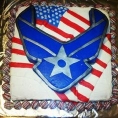 Air Force Cake - The Cake's Truffle