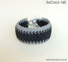 SoCoco - Life and Travel with a Capital Style Macrame Bracelets, Handmade Bracelets, Unique, Silver, Travel, Black, Jewelry, Style, Voyage