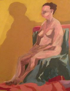 SMFA Art Sale #nude #painting
