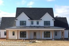 Farmhouse Plan 4138WM comes to life in Mississippi! - photo 001