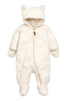 Combinaison en peluche - Écru - ENFANT | H&M FR 1