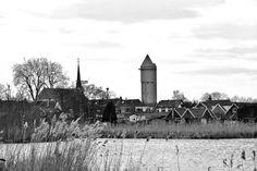 Meerkerk,     vanaf de Zederikkade