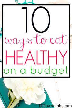 I implement some of this continuously! Find out how you can eat healthy on a tight budget. This is such a helpful list of tools and foods that you can use to live a healthier and happier lifestyle. Ways To Eat Healthy, Healthy Recipes On A Budget, Budget Meals, Healthy Tips, Eating Healthy, Budget Cooking, Frugal Meals, Easy Dinners, Freezer Meals