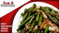 Chinese Spicy Szechuan Green Beans stir fry