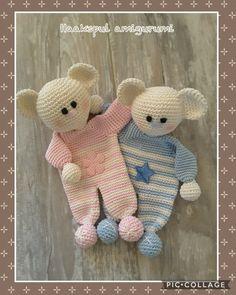 Ideas For Crochet Patterns Toys Hooks Diy Crochet Toys, Crochet Lovey, Crochet For Kids, Crochet Crafts, Crochet Dolls, Crochet Projects, Crochet Bear Patterns, Crochet Animals, Baby Patterns