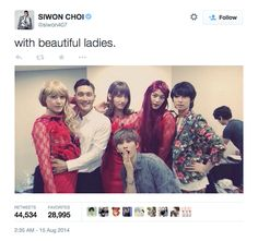 The Most Retweeted from Korean Celebrities, Most Talked About on Twitter, and More from 2014!