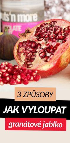 3 způsoby, jak vyloupat granátové jablko Eat, Food, Essen, Meals, Yemek, Eten
