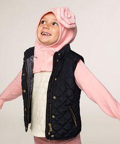 Loving this Pink Flower Minkey Hoodie - Infant & Toddler on #zulily! #zulilyfinds