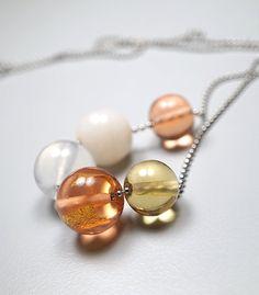 Melanie Moertel: Hand blown glass jewelry | 'Pureness' Collection | Simple and minimalistic | Shop on www.melaniemoertel.com
