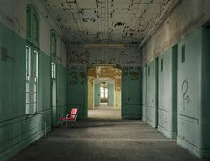 Buffalo State Hospital Ward, 2009 by Chris Payne