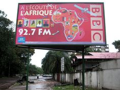 The BBC's French language service for Africa says it listens to the continent. At the very least, they have had some very hard-working employees over the years. Behind, a residential street in Kinshasa. Like the rest of the city, it was largely barre   Warning don't miss out  Click the link below