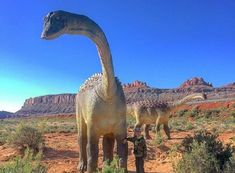 There's A Dinosaur Theme Park In Utah