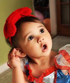 Sweetest Snow White! 12 bis 24m rot Baby Stirnband rot Stirnband häkeln Bow von BabaMoon